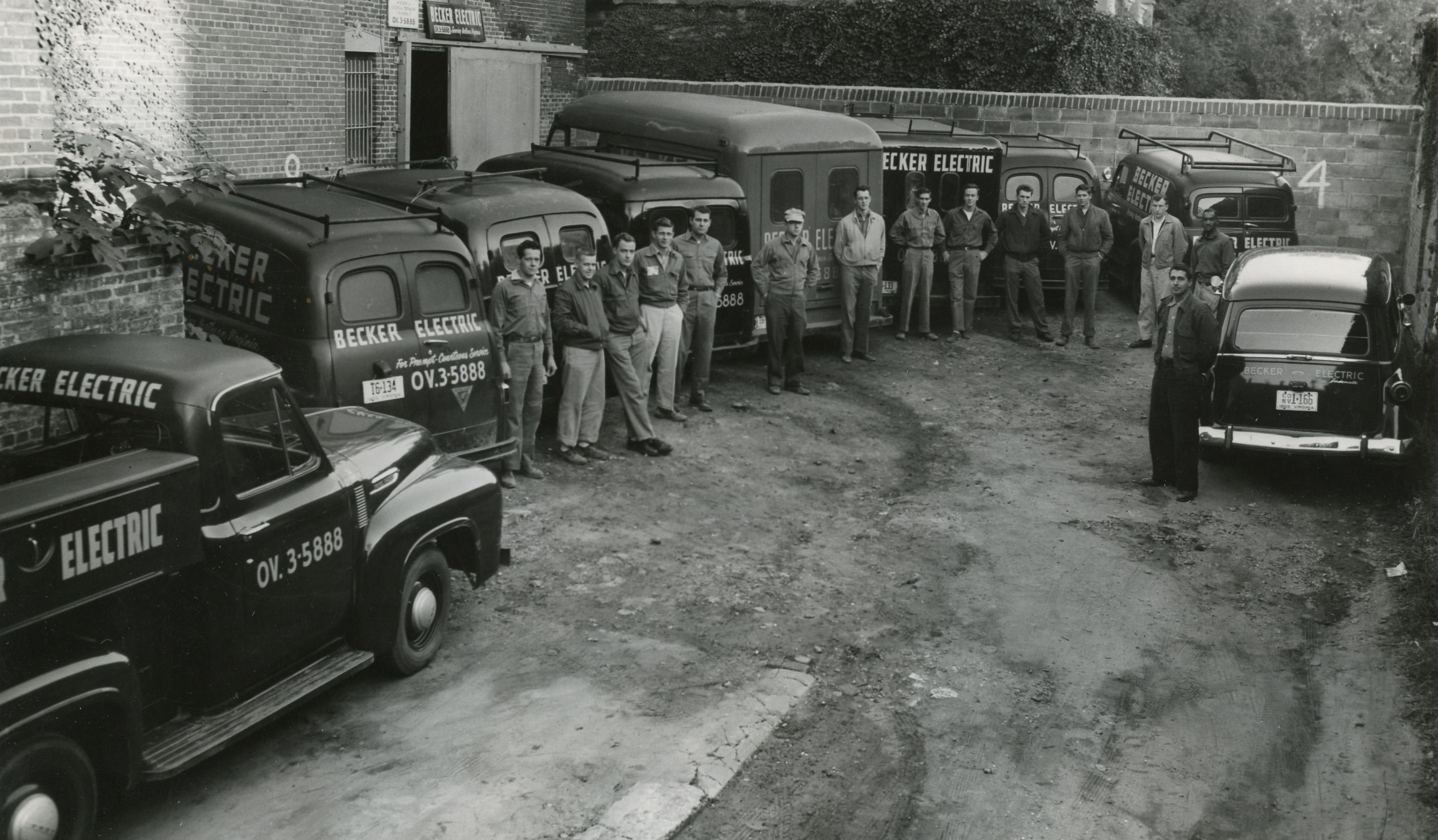 1950's Becker Electric Backyard