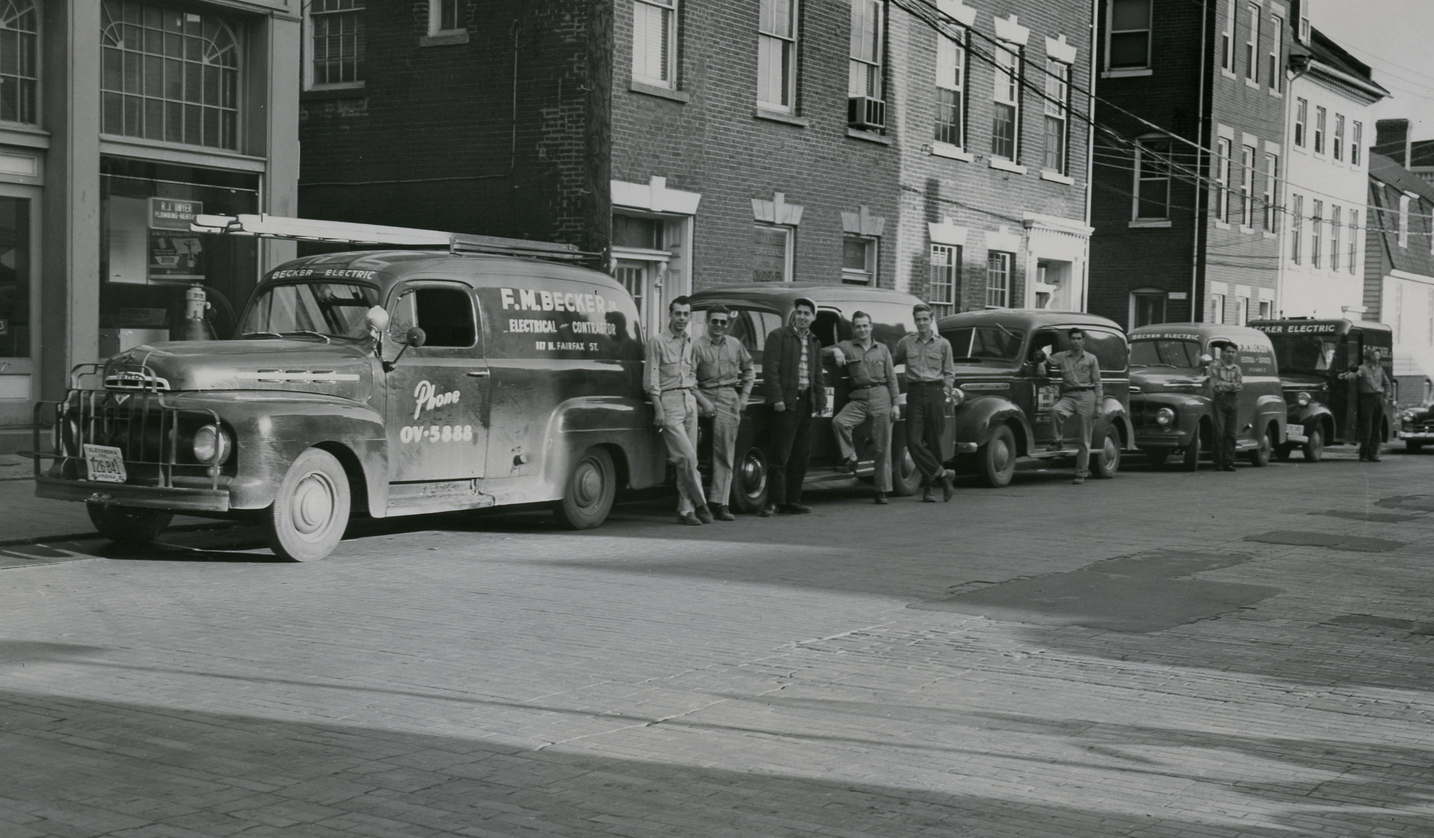 1950's Becker Electric